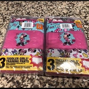 Minnie Mouse Training Pants